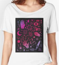 pattern spell Women's Relaxed Fit T-Shirt
