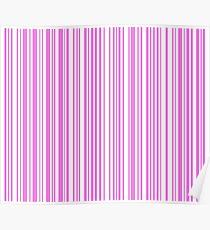Barcode Quooki Barcode Pink Poster