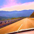 driving in spain. autovia ruta de la plata by terezadelpilar ~ art & architecture