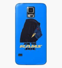 Trete der Seite der Rams bei Hülle & Klebefolie für Samsung Galaxy