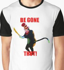 BEGONE THOT (Cat in the Hat) Graphic T-Shirt