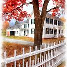 Watercolor Norwich Vermont by Edward Fielding