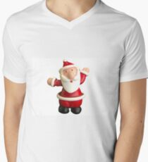 HoHoHello Santa! Men's V-Neck T-Shirt
