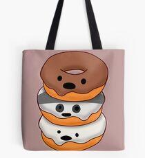 Bears Donuts Tote Bag