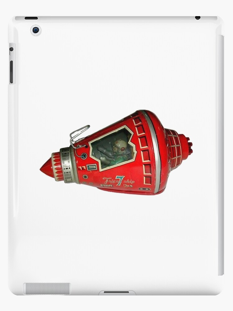 'Friendship 7 Capsule Mercury Toy Spaceship 1950s' iPad Case/Skin by Glyn123