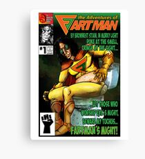 the Adventures of Fartman Canvas Print
