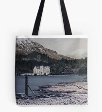 Glenfinnan House Hotel in the winter Tote Bag