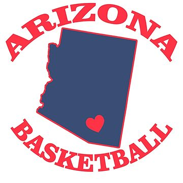 Arizona Basketball by cl0thespin