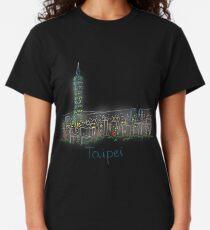 Taipei City Panorama at night Classic T-Shirt