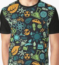 Ecology Pattern Graphic T-Shirt