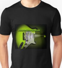 Fender Stratocaster Collection in Green T-Shirt