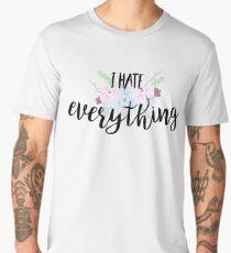 I hate everything Men's Premium T-Shirt