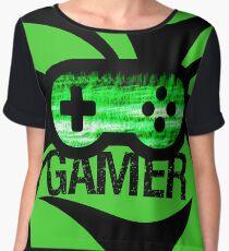 Gamer Green V2 Women's Chiffon Top