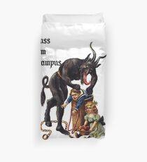 Gruss Vom Krampus  Duvet Cover