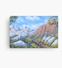 I would like to stay Canvas Print