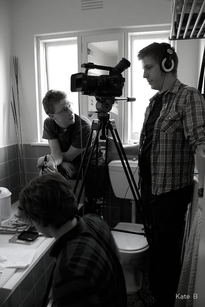 'The Phenomenon' production still- bathroom scene by Kate  B