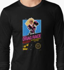 8-bit RuPaul's Drag Race Long Sleeve T-Shirt