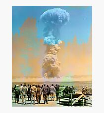 Nuclear Testing: Operation Teapot  Photographic Print