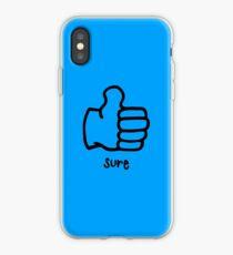 Sure by Rachel Kear iPhone Case