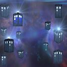 Tardis For Leggings & Pencil Skirts by thunderossa
