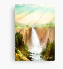 Beyond the Waterfall Canvas Print