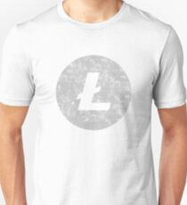 Vintage Litecoin Cryptocurrency Unisex T-Shirt