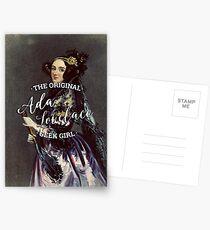 Ada Lovelace - The Original Geek Girl Postcards