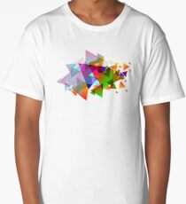 Triangles Long T-Shirt