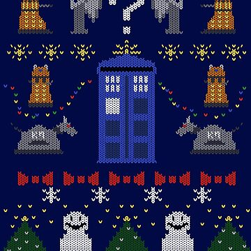 Whovian Christmas by silentrebel