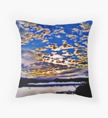 Misted Bay - Orton Series Throw Pillow