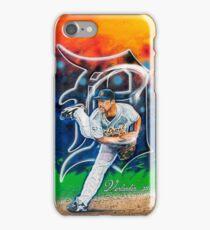 "Justin Verlander ""Smokin"" iPhone Case/Skin"