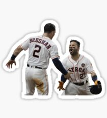 Alex Bregman And Jose Altuve Sticker