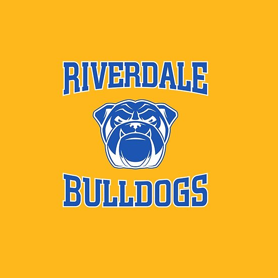 Riverdale Bulldogs Logo Posters By Thebyouzy Redbubble