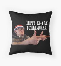 Chip Chipperson - Chippy Ki-Yay Throw Pillow