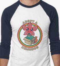 Stranger things demodog Men's Baseball ¾ T-Shirt