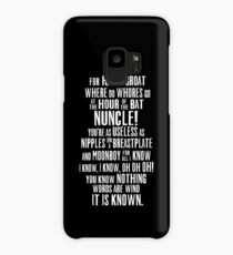 ASOIAF Phrases Case/Skin for Samsung Galaxy