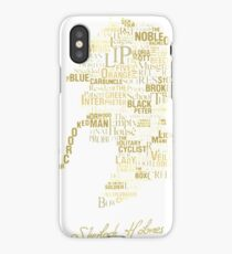 Detective Quotes The Canon Shirt iPhone Case/Skin