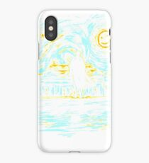Detective Quotes Starry Fall T-Shirt iPhone Case/Skin
