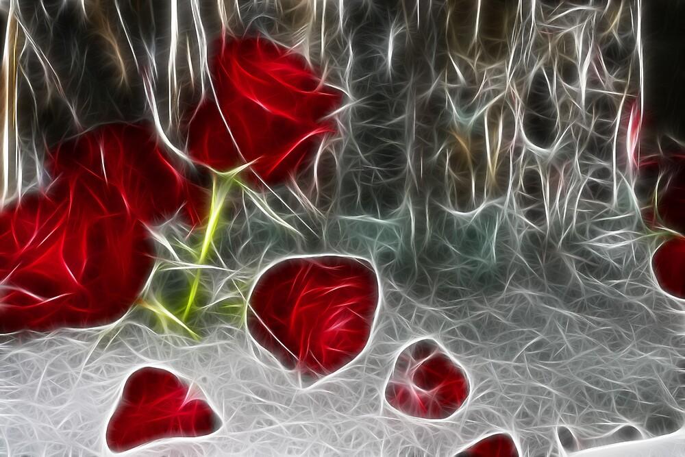 Ice Rose by ARTISTOFLIGHT