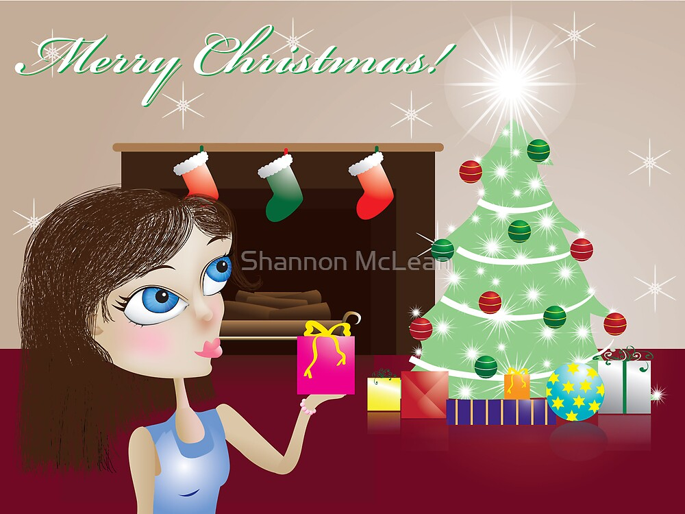 Christmas Card by Shannon McLean