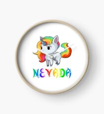 Nevada Unicorn Clock