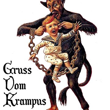 Gruss Vom Krampus by teachertees