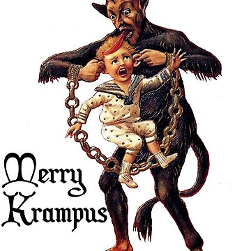 Merry Krampus Christmas  by teachertees