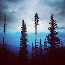 Midnight Blue Sunset by anartfulsoul