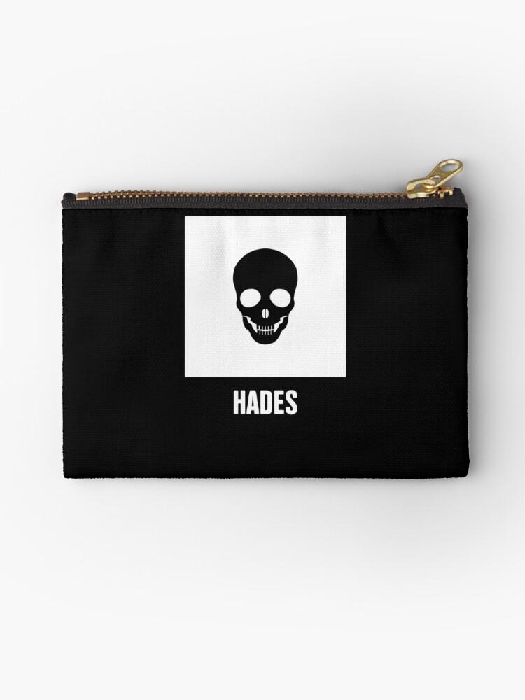 Hades Greek Mythology God Symbol Studio Pouches By Ethan Dirks