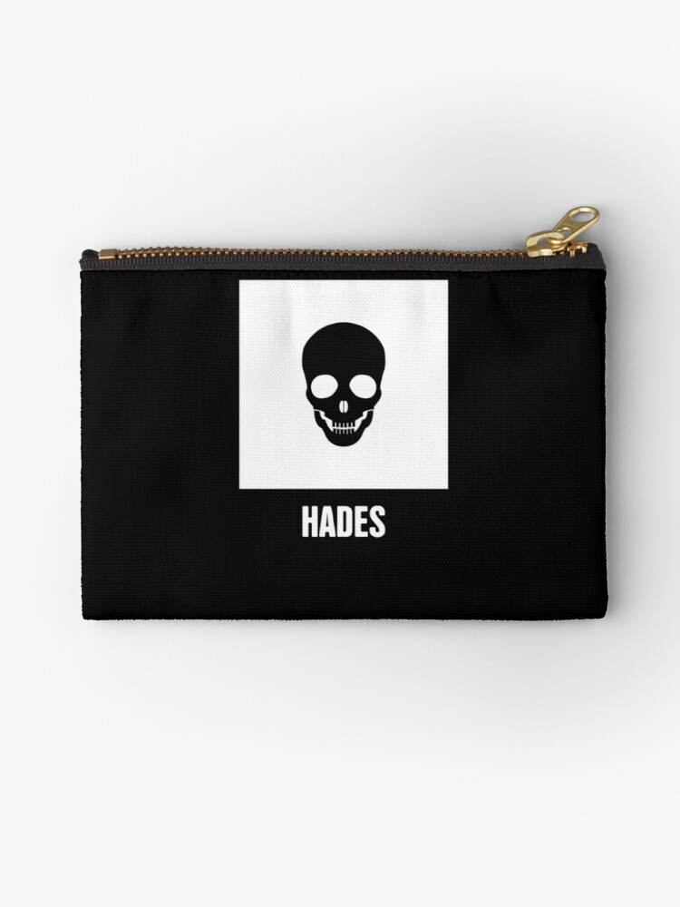 Hades Greek Mythology God Symbol Studio Pouches By Nathan Darks