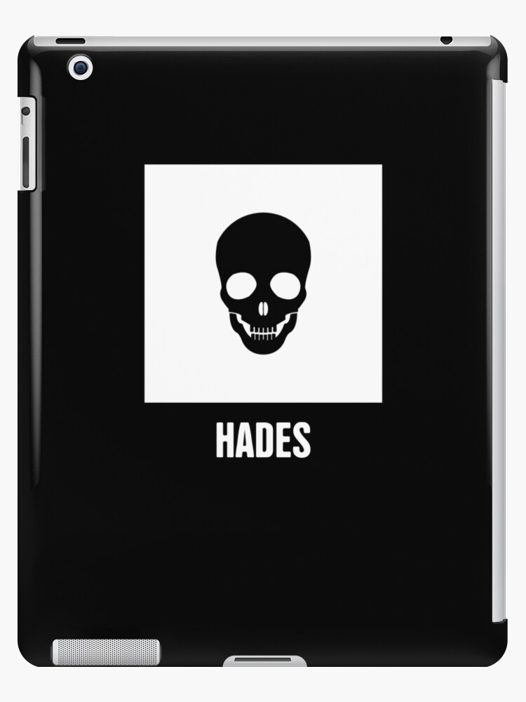 Hades Greek Mythology God Symbol Ipad Cases Skins By Nathan