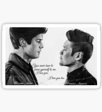 Malec collab with @irene_bane ❤ Sticker