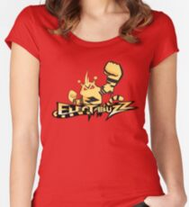 Electabuzz Women's Fitted Scoop T-Shirt