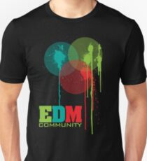 EDM Community (interacting bubbles) Unisex T-Shirt